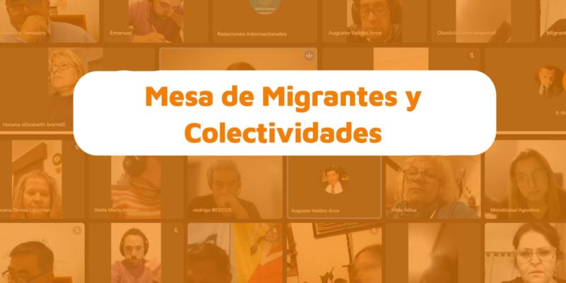 Tercer Encuentro De La Mesa De Las Migrantes Y Colectividades De La Ciudad De Córdoba