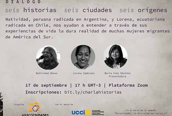"""Primer Diálogo De La Serie: """"seis Historias, Seis Ciudades, Seis Orígenes"""""""