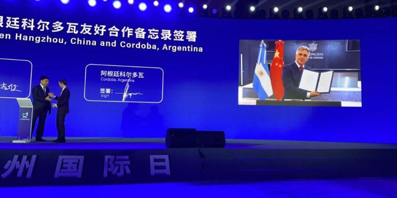 Córdoba Firmó Hermanamiento Con Hangzhou, Capital Tecnológica De China