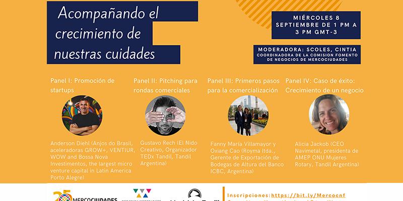 """Encuentro Virtual: """"Acompañando El Crecimiento De Nuestras Ciudades"""""""